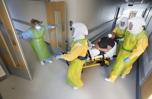 National Ebola exercise concludes