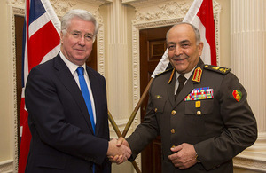 UK and Egypt continue to tackle joint threats