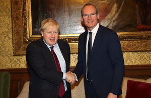 Foreign Secretary meeting with Irish Foreign Minister