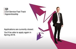 Fast Track applications closed