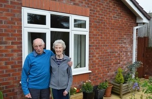 Cheshire motorway couple first to benefit from free double glazing
