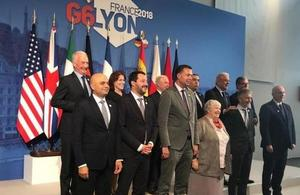 Home Secretary attends G6 Summit