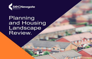 Press release: Planning and Housing location data independent review published