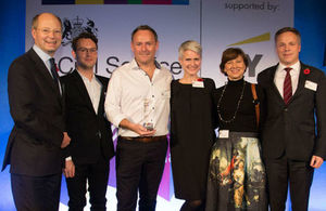 GOV.UK Notify wins Civil Service Operational Excellence Award