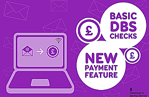 DBS launches new payment option for online basic DBS checks