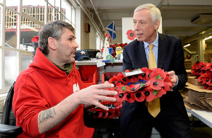 Defence Minister meets poppy producing veterans going for gold