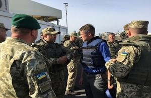 Defence Secretary announces extension of support to Ukraine's Armed Forces