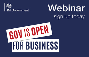Webinar   11 July   Meet the Buyer   The Department for Work and Pensions