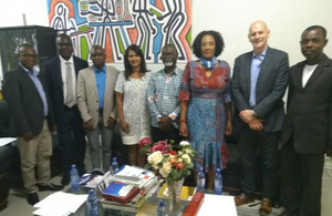 Government Chemist and IGFS visit Ghana
