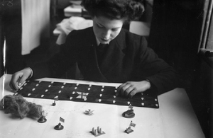 Women winning battles: Recreating the Wrens unit which helped win the War