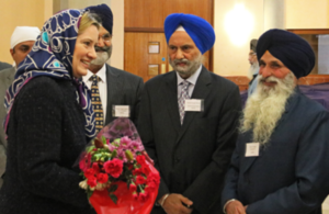 Home Secretary visits Britain's biggest gurdwara