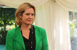 Home Secretary attends signing of Colombian peace deal