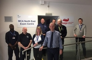 New maritime exam centre opens on Tyneside