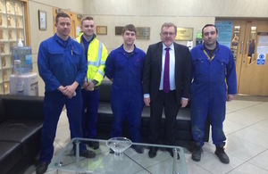 Scottish Secretary meets engineers and apprentices as UK Government launches campaign to inspire the next generation