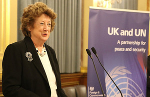 Baroness Anelay welcomes new UNSC members
