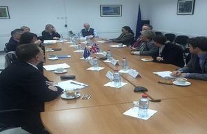 Stabilisation Unit leads international policing visit to Kosovo
