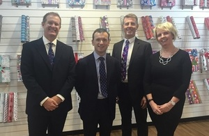 IG Design Group UK welcomes the Secretary of State for Wales