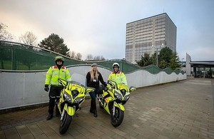 Press release: DVLA unveils Blood Bikes Wales as their Charity of Choice for 2020