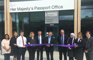 Immigration Minister opens new passport office in Durham