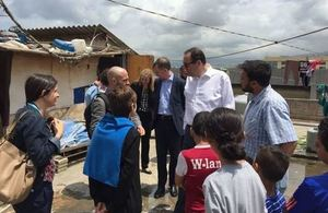 Minister for Syrian Refugees visits Lebanon