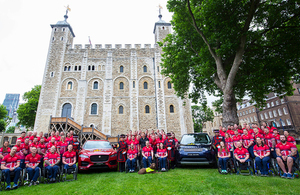 Prince Harry unveils the UK team for the Invictus Games 2017