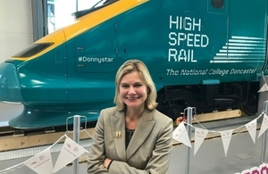 Education Secretary opens new high speed rail college