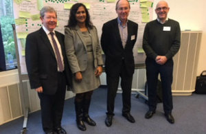 GC team contributes to ongoing discussions on honey authenticity