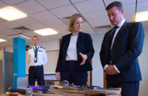 Home Secretary takes further action to tackle knife crime