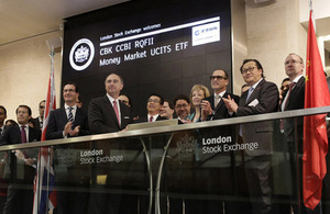 Making Britain the Western RMB hub   government hails next step