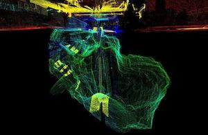 Laser technology used in works to secure mine shaft