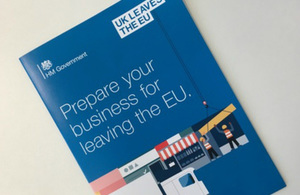 Leaving the EU: BEIS issues advice for business