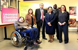 UK to make disability a global priority