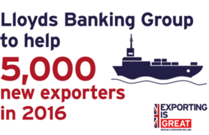 Lloyds Banking Group and UKTI work together to help new exporters