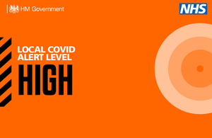 Press release: Local COVID alert level update: Coventry, Slough and Stoke on Trent
