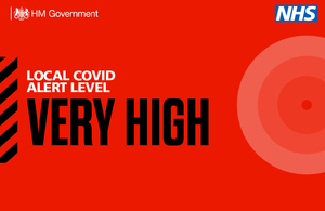 Press release: Local COVID alert level update for South Yorkshire