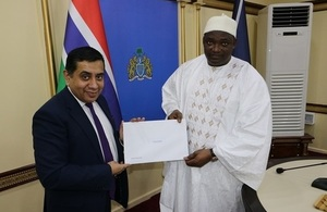 Lord Ahmad congratulates The Gambia on Commonwealth re entry