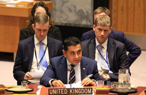 Lord Ahmad participates in UN Security Council debates on the Sahel and Children in Armed Conflict
