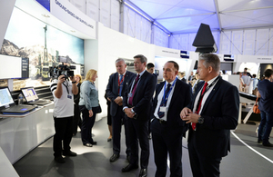Lord Bourne sees high flying Welsh aerospace industry in action