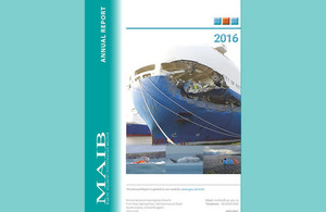 MAIB Annual Report 2016 published