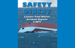 MAIB safety digest 1/2017 published