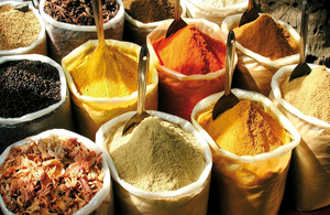 Detection of allergens and nut materials in herbs and spices