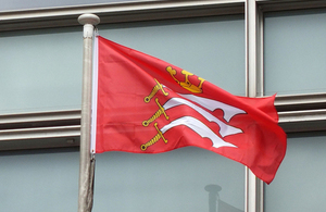 Historic Middlesex flag flies above Westminster once again