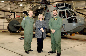 Defence Minister visits a hub for Queen Elizabeth Class Carrier Programme