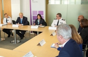 Prime Minister opens first meeting of national policing board