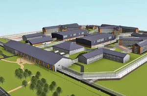 North Wales' new prison named