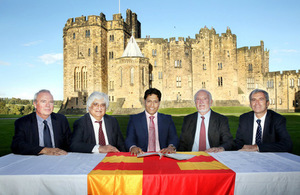 Northumberland health and care leaders sign MOU with India
