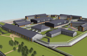 New prison to be run by Her Majesty's Prison Service (HMPS)