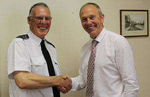Prison officer retires after 45 years of service