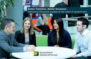 Government Statistical Service: influential anlaysis at the heart of government