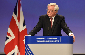 David Davis' closing remarks at the end of the fourth round of EU exit negotiations in Brussels